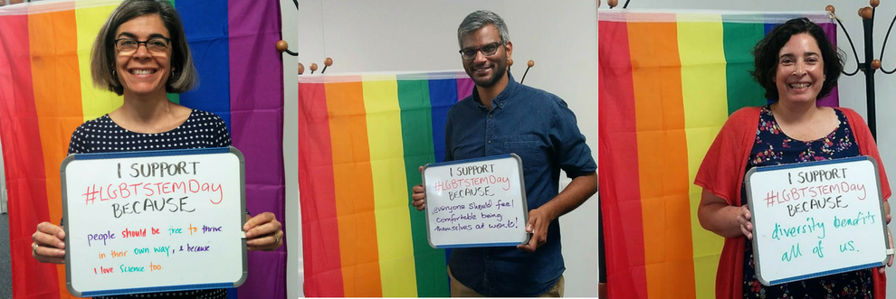 LGBT STEM banner